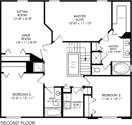 New 2441 Sq Ft 3 Bedroom 2 1 2 Bath Game Room